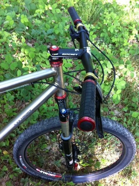le velo titane de renaud 171 otm bikes